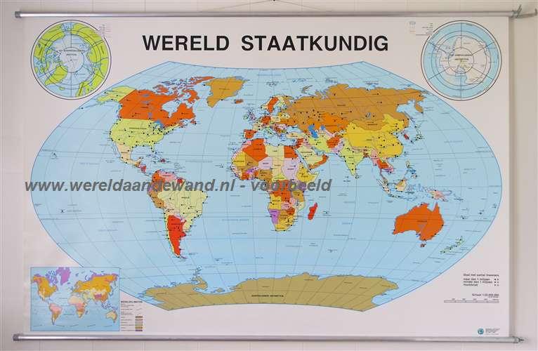 Antiquariaat de wereld aan de wand wandkaarten schoolkaarten schoolplaten de wereld - Vloerlamp van de wereld ...
